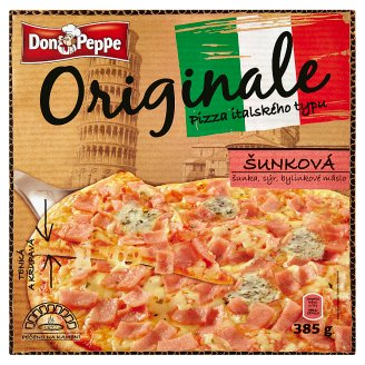 Don Peppe Original Pizza with Ham 385g