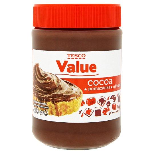 Tesco Value Cocoa Spread 400g