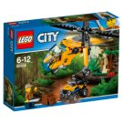 LEGO City Nákladní helikoptéra do džungle 60158