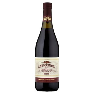 Cavicchioli Lambrusco Dell' Emilia Lightly Carbonated Red Sweet Wine 75cl