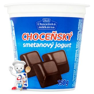 Choceňská Mlékárna Choceňský Cream Yoghurt Chocolate 150g