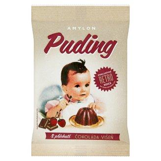Amylon RETRO Puding s příchutí čokoláda višeň v prášku 40g