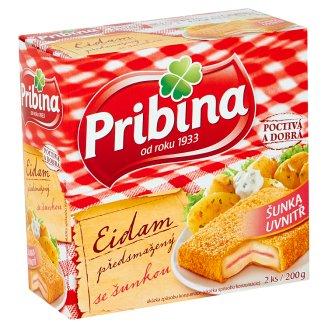 Pribina Pre-Fried Cheese with Ham 200g