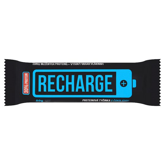 Rupa Recharge Protein Bar with Chocolate 50g