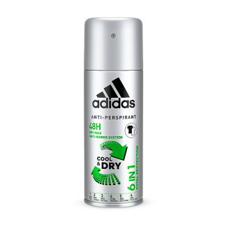 Adidas Cool & Dry antiperspirant 6v1 150ml
