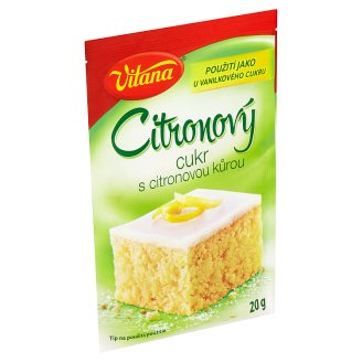 Vitana Lemon Sugar with Lemon Peel 20g