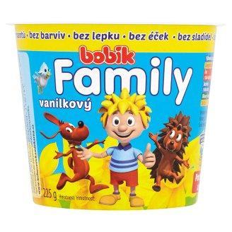 Bobík Family vanilkový 225g