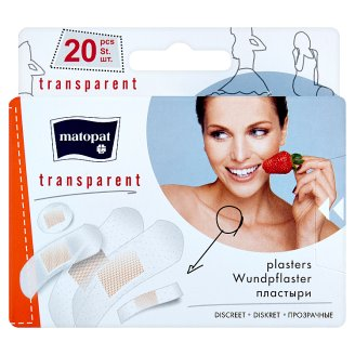 Matopat Transparent Patch with Pillow 20 pcs
