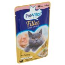 PreVital Naturel Complete Food for Adult Cats with Turkey in Jelly 85g