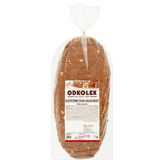 Odkolek Five Grain Sliced Bread Sprinkled with Millet Grains 500g