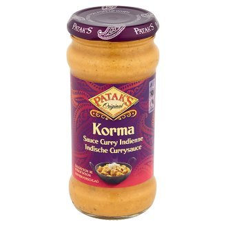 Patak's Korma Sauce Curry Indienne 350g