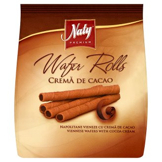 Naty Premium Viennese Wafers Filled Cocoa Cream 100g