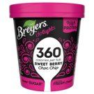Breyers Delights Sweet Berry Choc Chip proteinová zmrzlina v kelímku 500ml