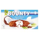 Bounty Frozen Dairy Cream with Coconut, Grated Coconut and Cocoa Glaze 6 x 39.1g