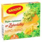 MAGGI Ze Zahrádky Chicken Broth with Herbs in Cube 3L 6 x 9g