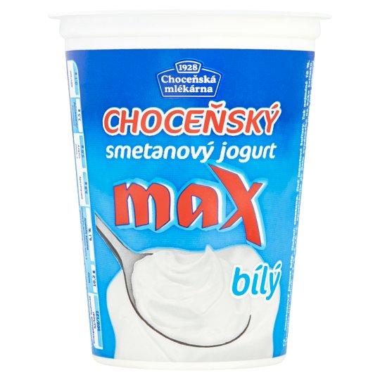 Choceňská mlékárna Choceňský Cream Yoghurt Max White 380g