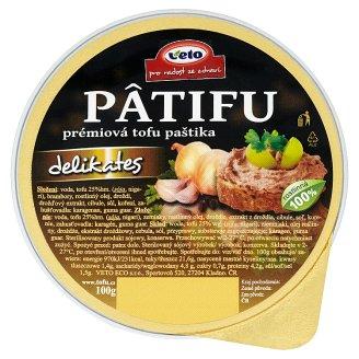 Veto Pâtifu Premium Tofu Pate Delikates 100g