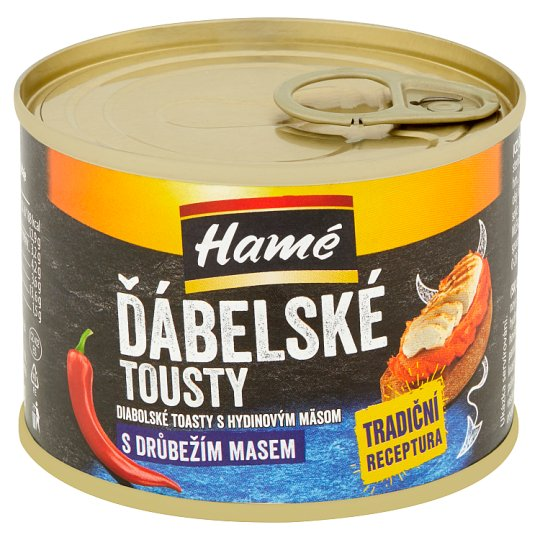 Hamé Devil's Toasts with Poultry Meat 180g