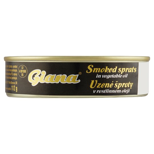 Giana Smoked Sprats in Vegetable Oil 160g