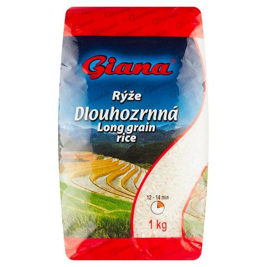 Giana Rýže dlouhozrnná 1kg