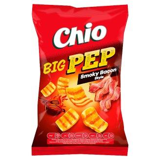 Chio Big Pep smažený pšenično-bramborový snack s příchutí uzené slaniny 65g