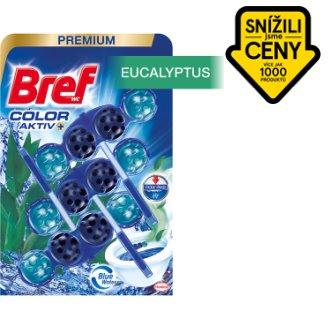 Bref Blue Aktiv Eucalyptus tuhý WC blok 3 x 50g