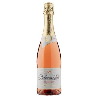 Bohemia Sekt Rosé Brut jakostní šumivé víno růžové 0,75l