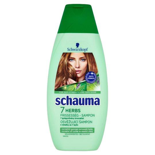 Schauma Refreshing Shampoo with 7 Herbal Extracts 400ml