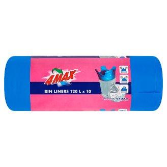 4MAX Bin Liners 120L 10 pcs