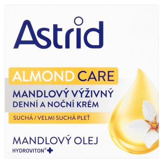 Astrid Nutri Skin Almond Day and Night Cream Dry Skin 50ml