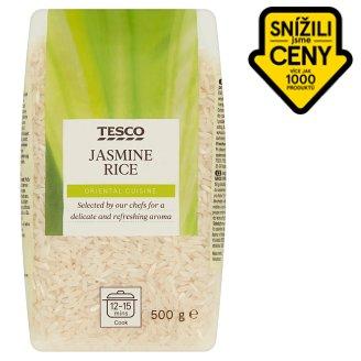 Tesco Jasmine Rice Long Grain 500g