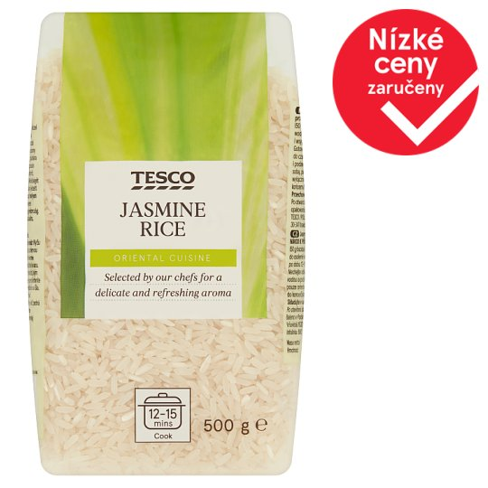 Tesco Jasmine Rice 500g