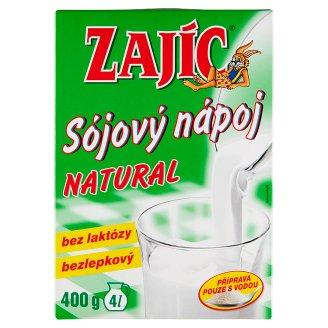 Zajíc Sójový nápoj natural 400g
