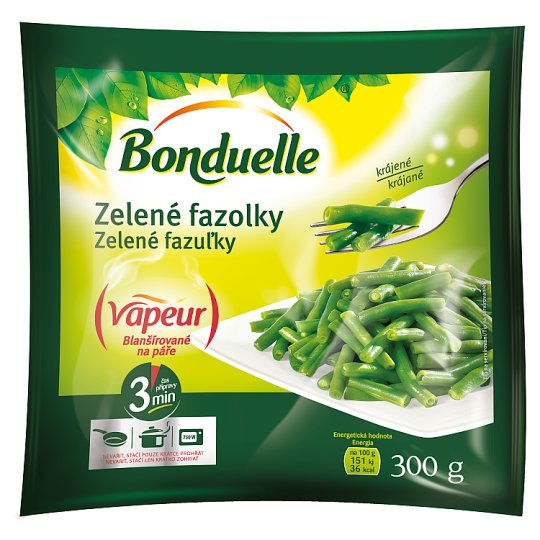 Bonduelle Vapeur Green Bean Pods Cut 300g