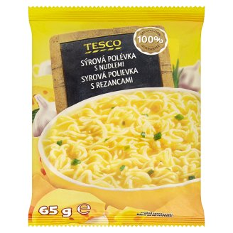 Tesco Cheese Soup with Noodles 65g