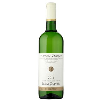 Znovín Znojmo Irsai oliver 2014 odrůdové bílé víno jakostní 0,75l