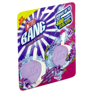 Cillit Bang Power & Fresh Breezy Lavender Garden tuhý WC blok 2 x 40g
