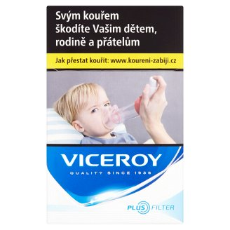 Viceroy Plus Filter Blue Cigarettes with Filter 20 pcs
