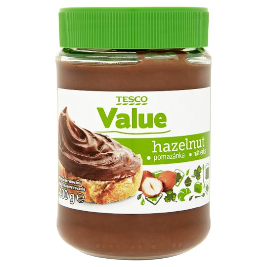 Tesco Value Hazelnut Spread 400g