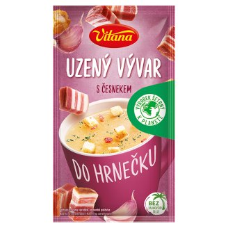 Vitana Do hrnečku Instant Soup Broth with Smoked Garlic 25g