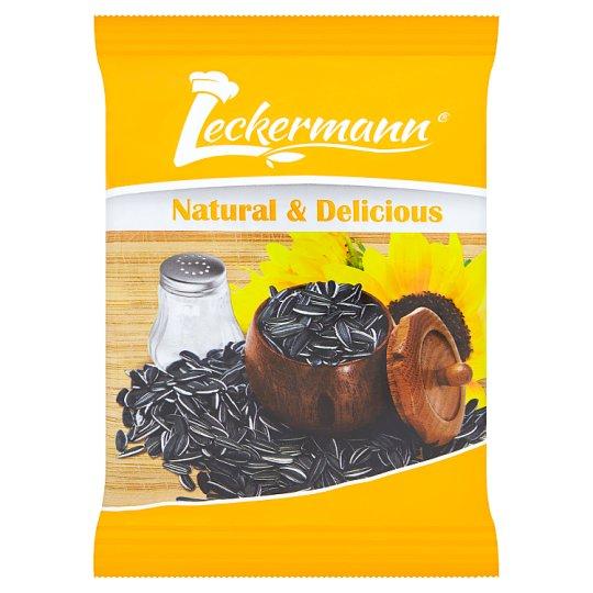 Leckermann Slunečnicová semínka pruhovaná pražená neloupaná solená 100g