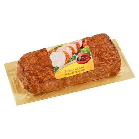 Ravy Baked Meat Loaf with Cheese 500g