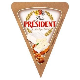 Président Brie s ořechy 125g