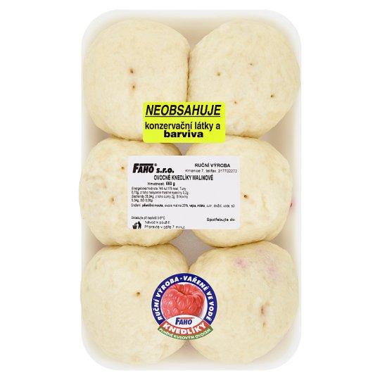 Faho Fruit Dumplings with Raspberries 550g
