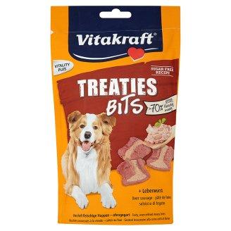 Vitakraft Treaties bits játrové pečené kousky pro psy 120g