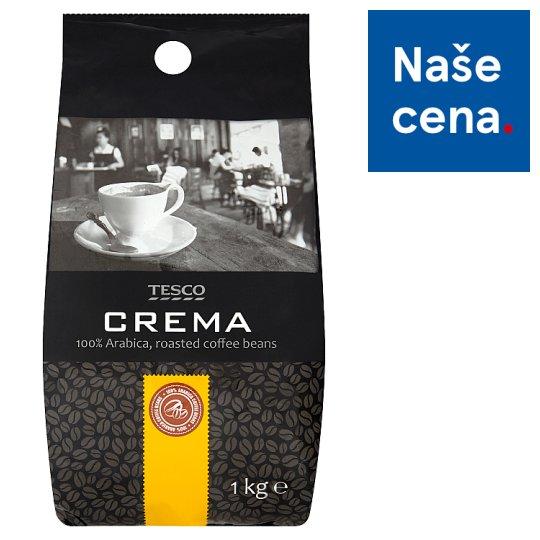 Tesco Crema 100% Arabica, Roasted Coffee Beans 1kg