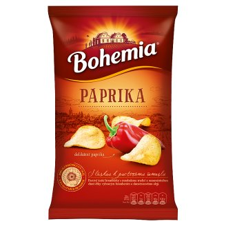 Bohemia Chips Delicate Red Pepper 150g