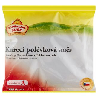 Vodňanské Kuře Chicken Soup Mixture Deep Frozen 750g