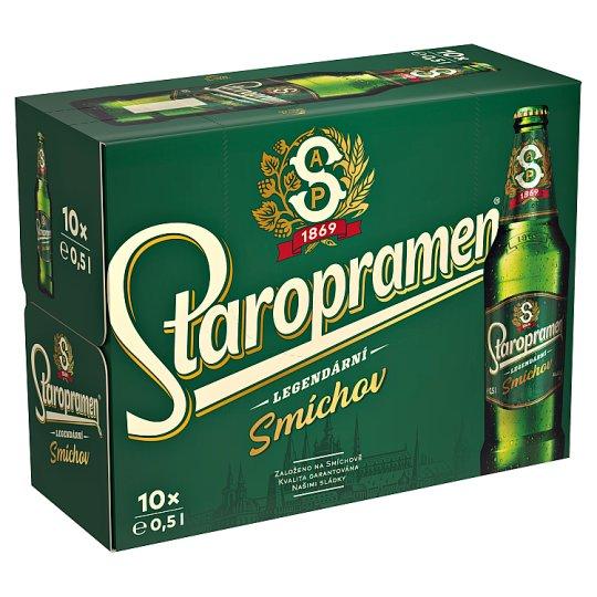 Staropramen Smíchov pivo výčepní světlé 10 x 0,5l