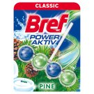 Bref Power Aktiv Pine Forest tuhý WC blok 50g